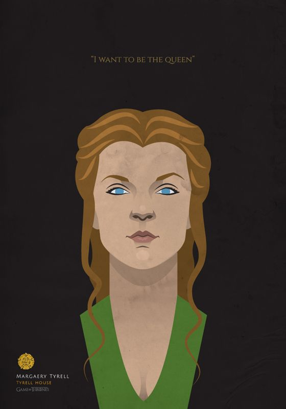 GAME OF THRONES Characters on Behance