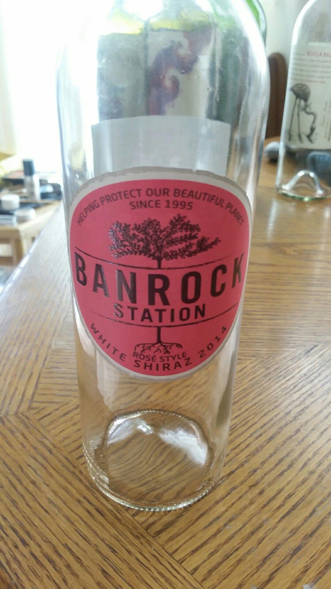 Banrock Station White Shiraz 12 Australia Wine Glass Glassware Wine