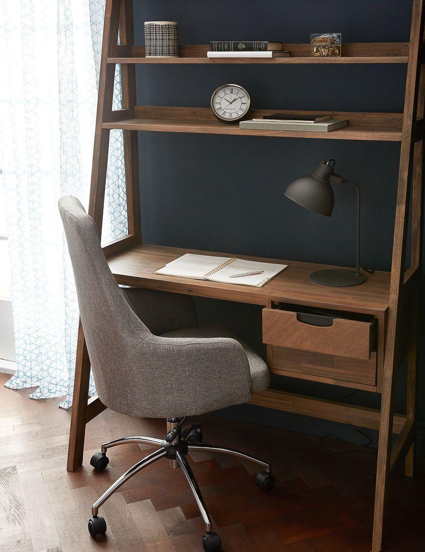 Desk With Shelves Desk In Living Room Cheap Office Furniture
