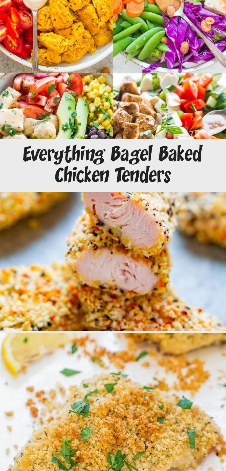 Photo of Everything Bagel Baked Chicken Tenders – Chicken