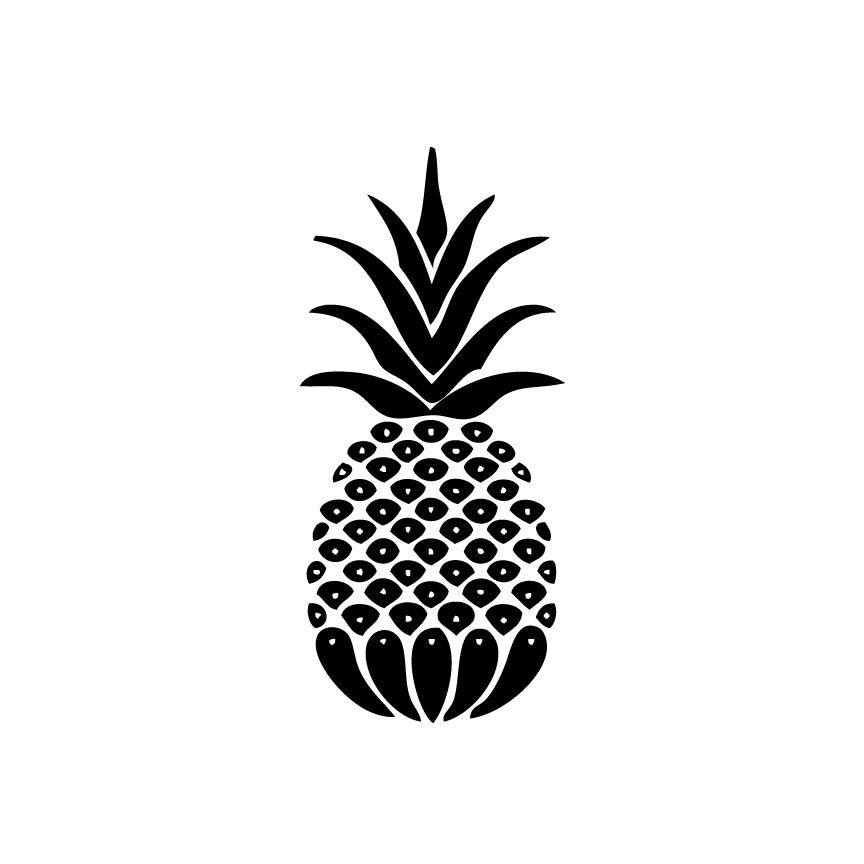 Pineapple Decal A Cherry Or Two Acherryortwo Com
