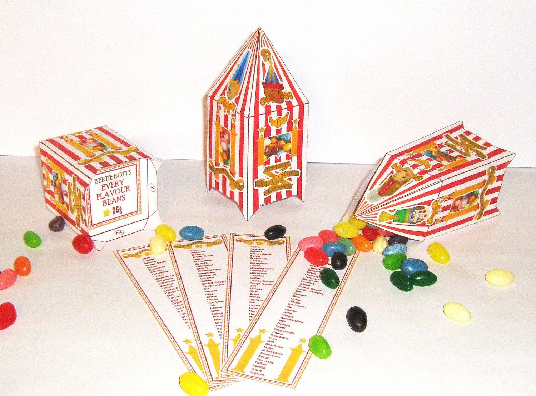 Harry Potter Bertie Botts Every Flavour Bean Boxes 500 Via