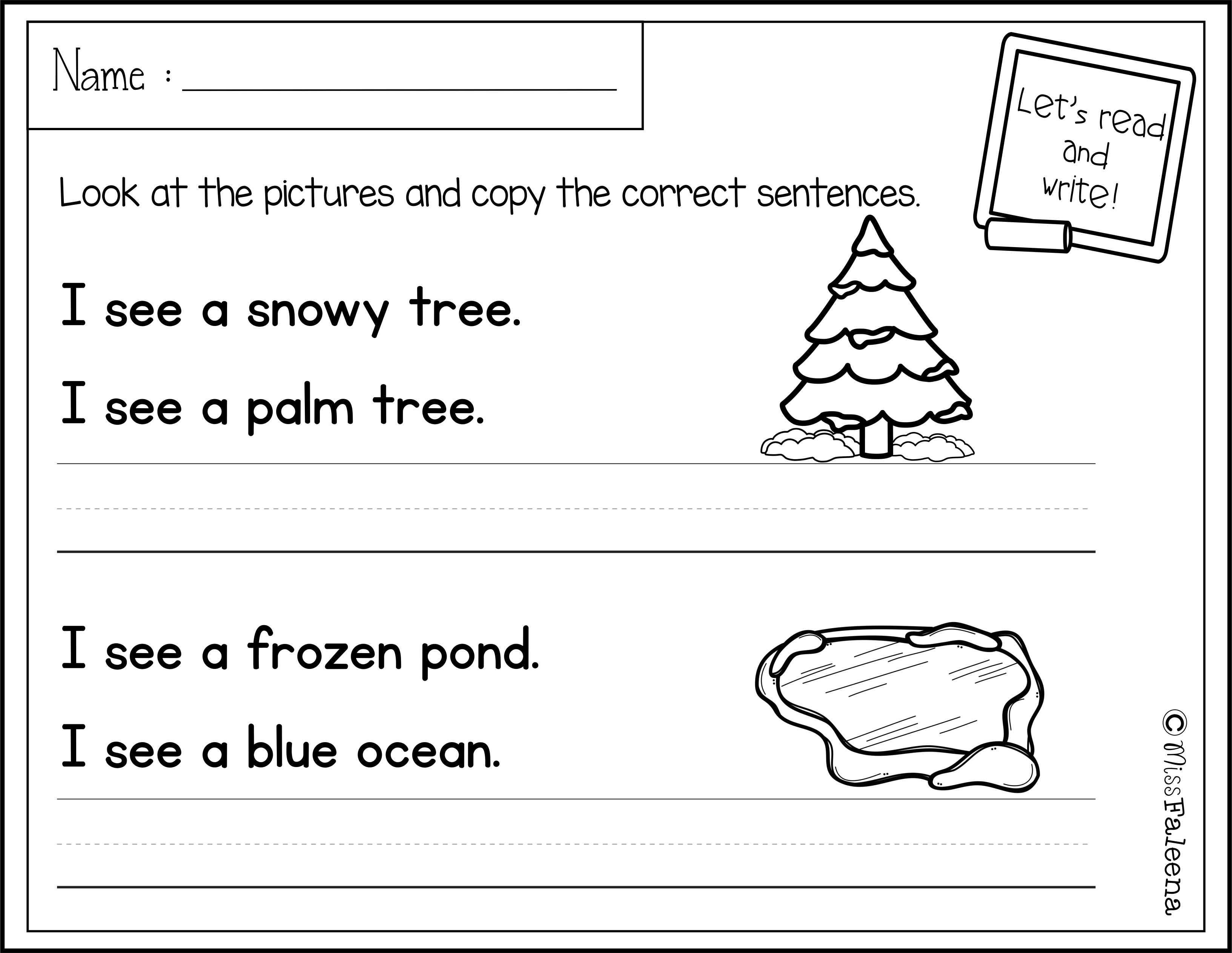 January Sentence Writing Sentence Writing Writing Worksheets Writing Practice [ 2526 x 3266 Pixel ]
