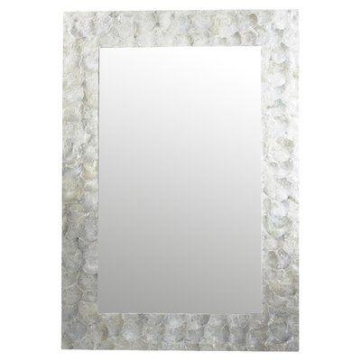 Capiz Accent Mirror Mirror Wall Oversized Wall Mirrors Mirror