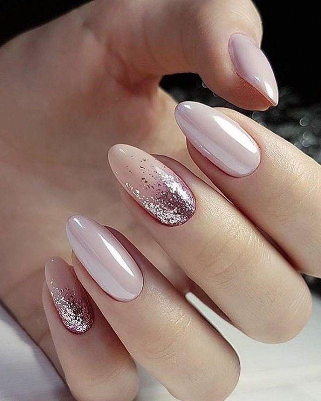 Classy elegant these nails