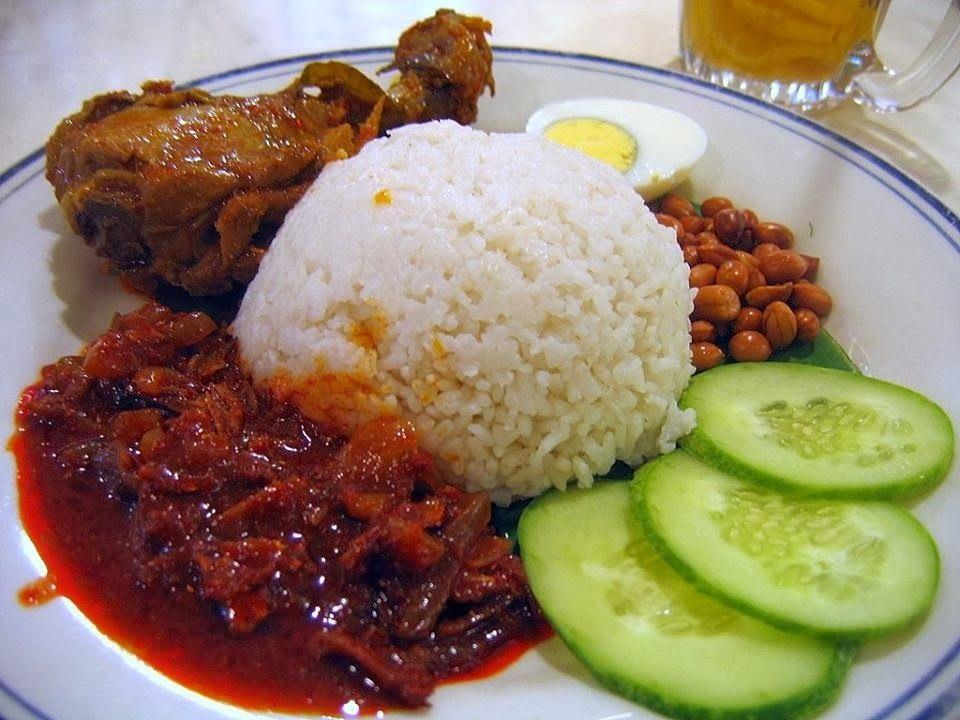Resepi Nasi Lemak Kukus Resep Masakan Malaysia Resep Makanan Resep Makanan India