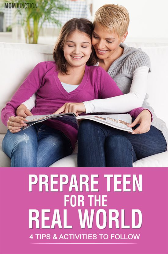 Help to prepare the teen — 2