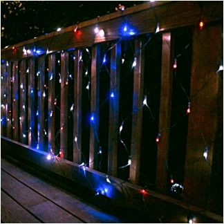Outdoor Solar Net Lights Solar 10ft x 35ft 200 led red white and blue multi function net net lights workwithnaturefo
