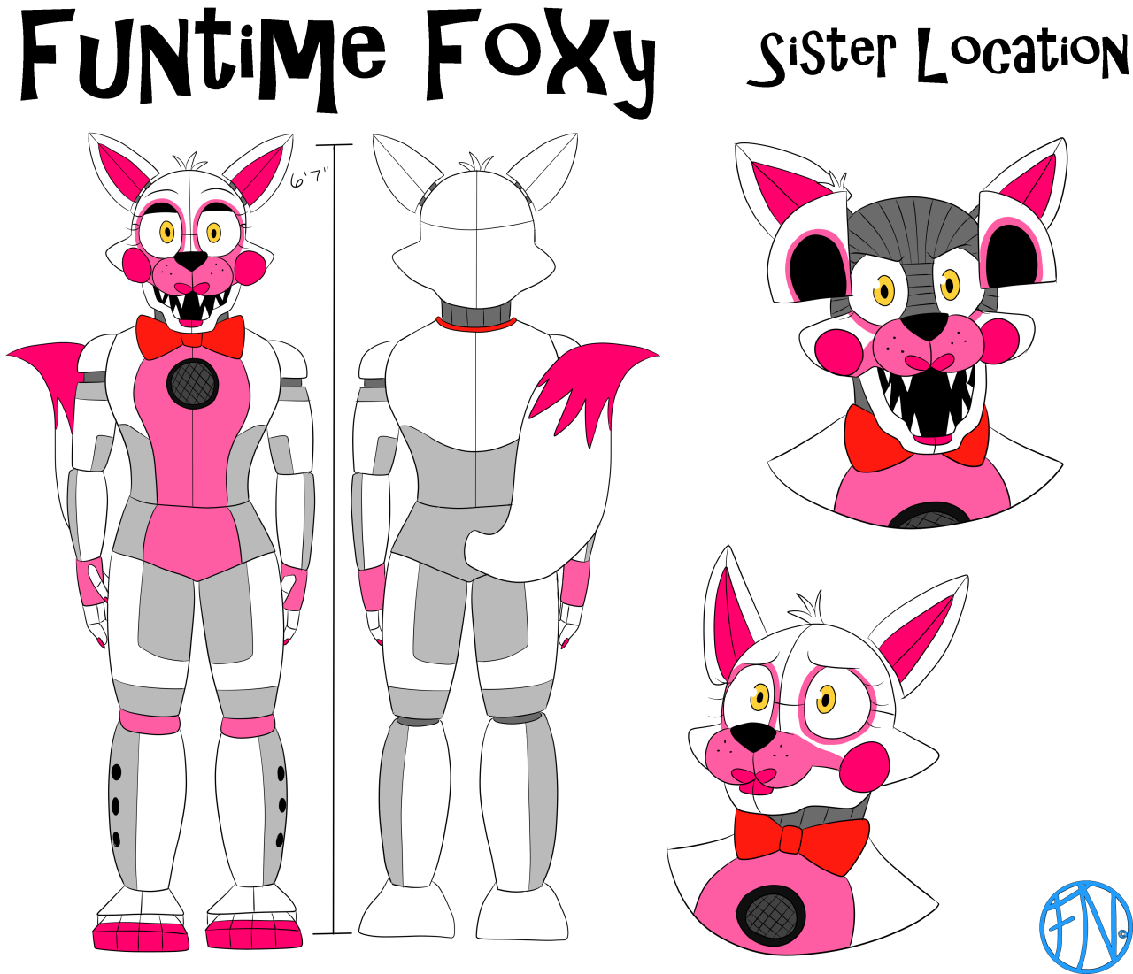 """""""ALL FNAF-related"""" FNAFNations' Reference Sheet (Part 4"""