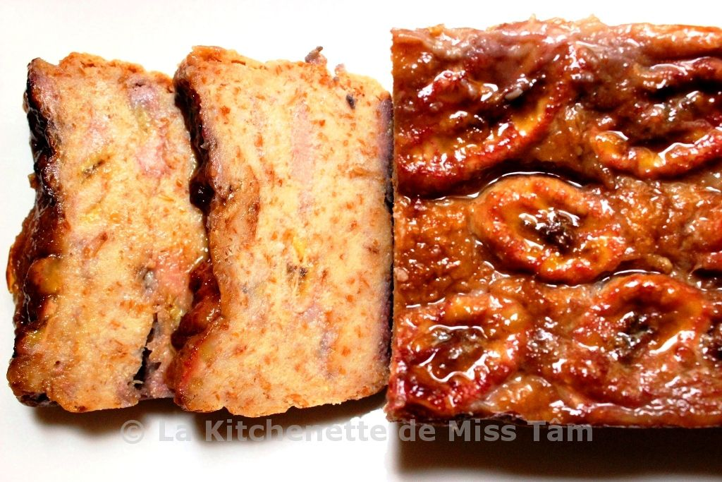 Gâteau à la banane vietnamien 4 La Kitchenette de Miss Tâm