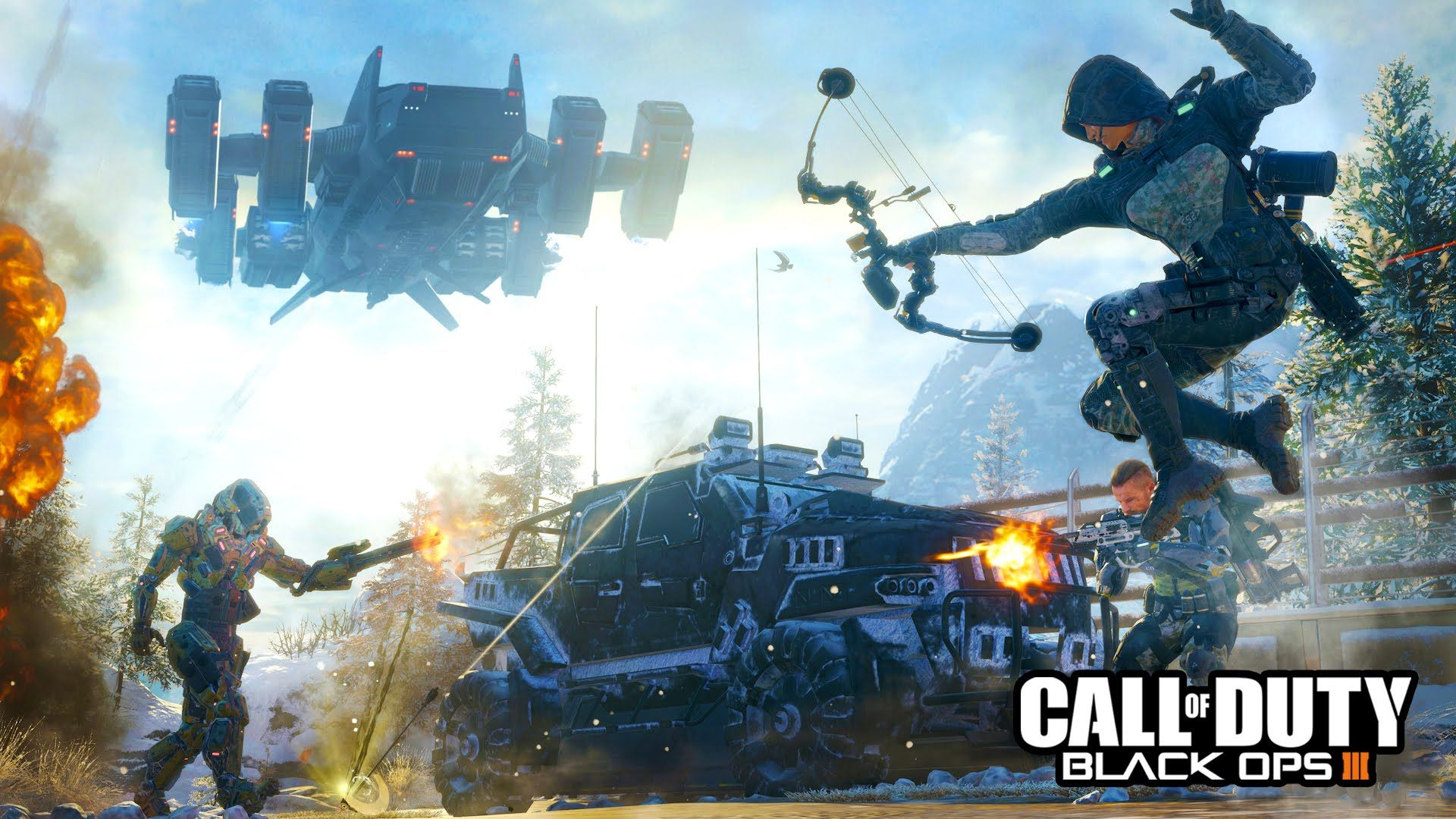 Call Of Duty Black Ops 3 Multiplayer Beta Gameplay Live