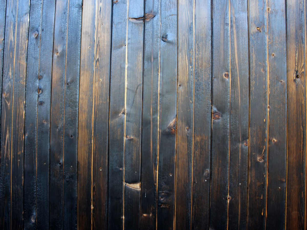 Resource For Charred Siding And Fencing Also Known As