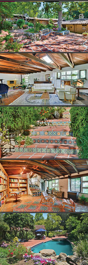 Spanish style brings the outdoors in seamlessly. www.15231QuitoRd.com