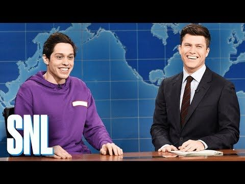 Saturday Night Live's Pete Davidson Tries to Figure Out