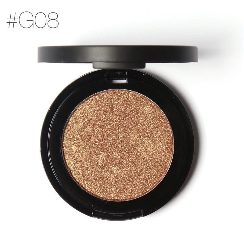 FOCALLURE Professional Metallic Glitter Shimmer Eyeshadow