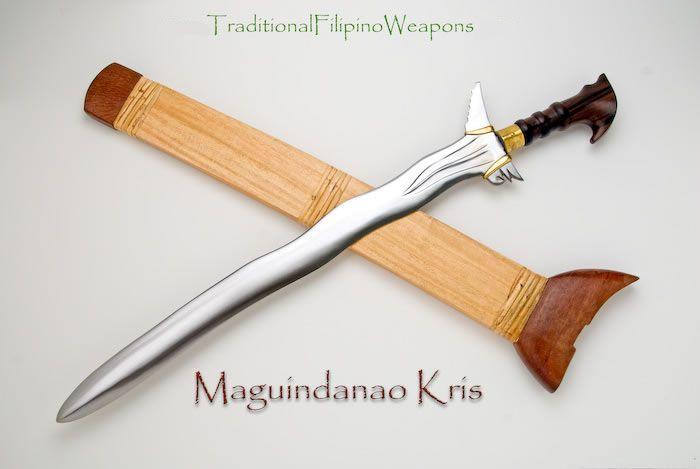 Filipino Kris Sword #6 - Maguindanao