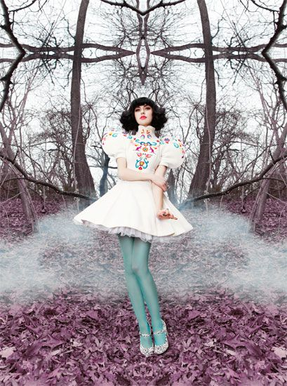 The fabulous Kimbra is somebody Gotye used to know. (The pun was inevitable.)
