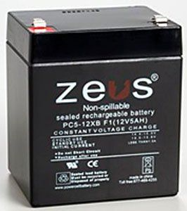 Zeus Craftsman Garage Door Opener Battery 12v 5ah Pc5 12xbebalt1 By Zeus 16 49 Home Security Systems Uninterruptible Power Supplies Security System