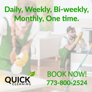 We have a same day cleaning servicse in Chicago. Call us now ...