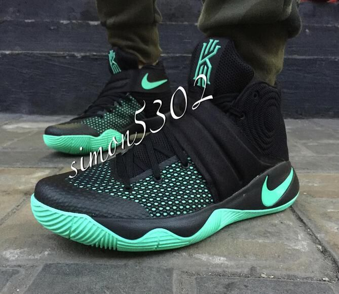 free shipping f579a e45a2 ... coupon code for nike kyrie 2 sneakers green glow black green glow mens  basketball shoes 2e071