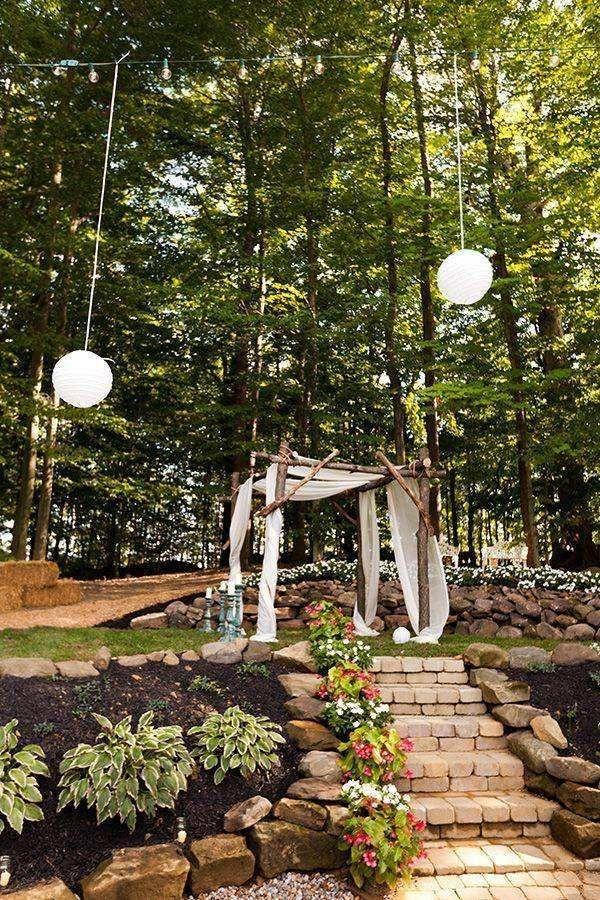 Sarah and Zac\'s $7,000 Backyard Wedding   Wedding Ideas   Pinterest ...