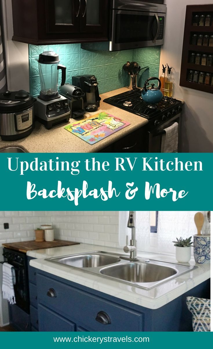 Easy RV Kitchen Remodel Ideas: Backsplashes, Countertops, and More ...