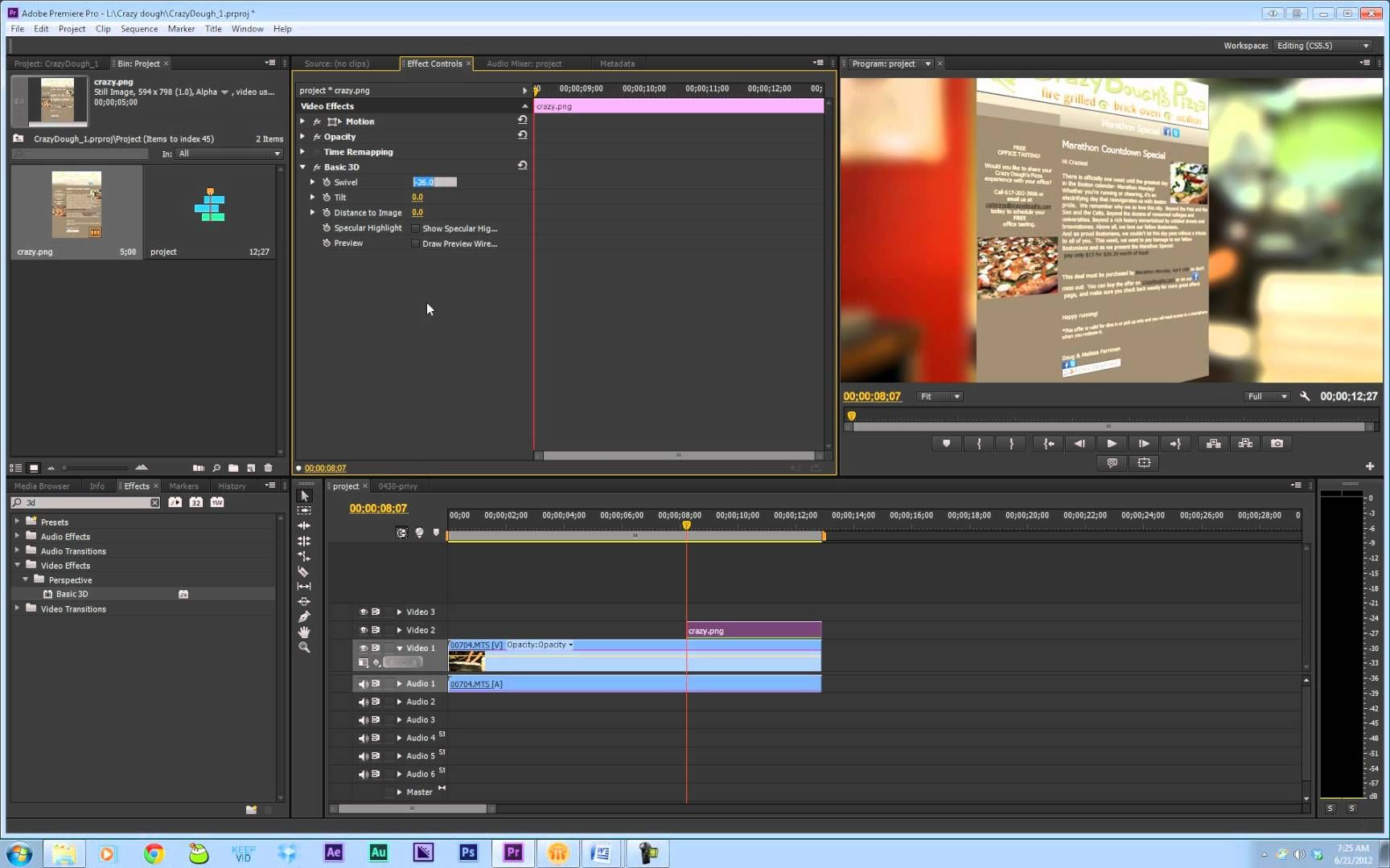 how to lower background noise in premiere pro