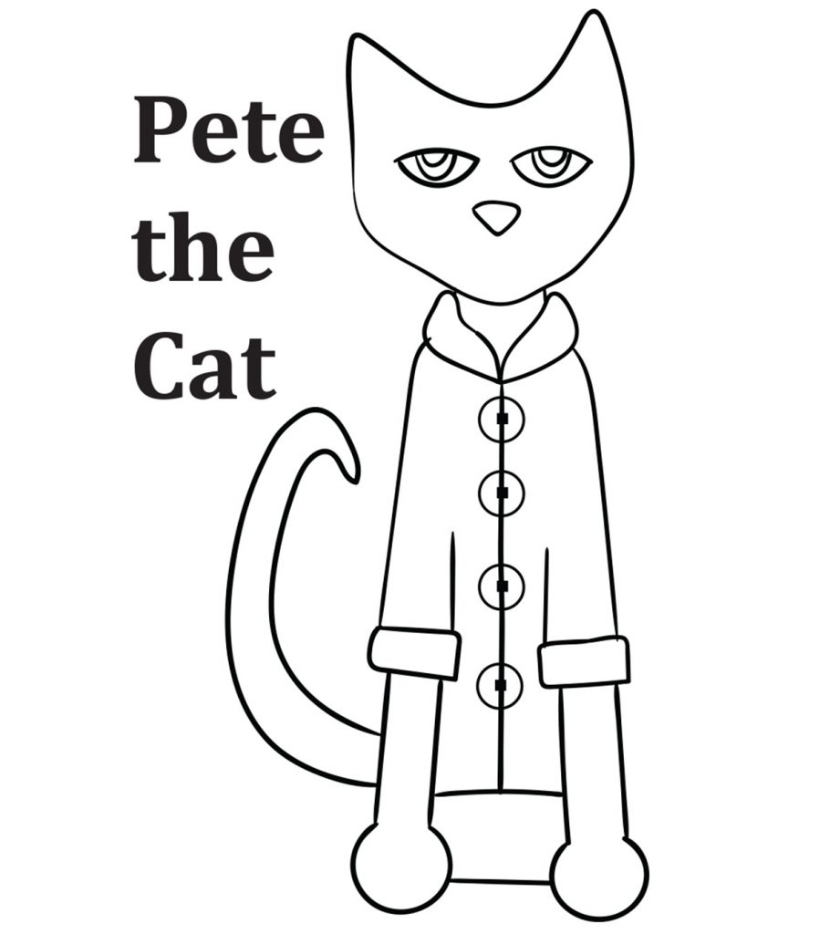 Top 21 Free Printable Pete The Cat Coloring Pages Online Pete The Cat Cat Printable Cat Coloring Page