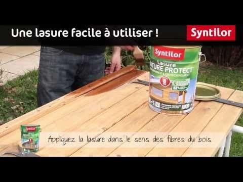 La Déco en vidéo by Syntilor Vidéos Syntilor Pinterest - lasure pour bois exterieur