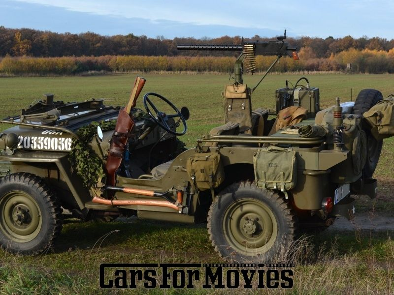 Jeep Willys Mb Usa 1943 Carsformovies Filmfahrzeuge Moviecars