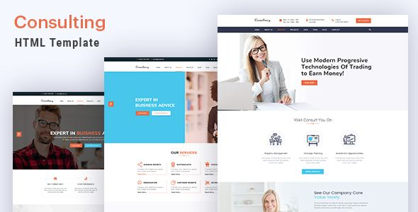 Consulting finance and business html5 template business consulting finance and business html5 template preview flashek Image collections