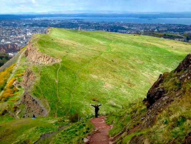 Salisbury Crags, Edinburgh, Scotland