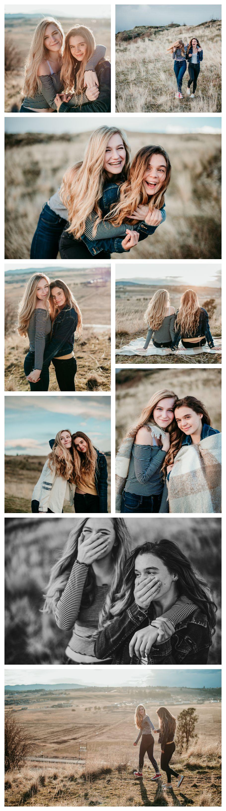 Friend photoshoot, best friends, post falls Idaho photographer, CDA photographer…