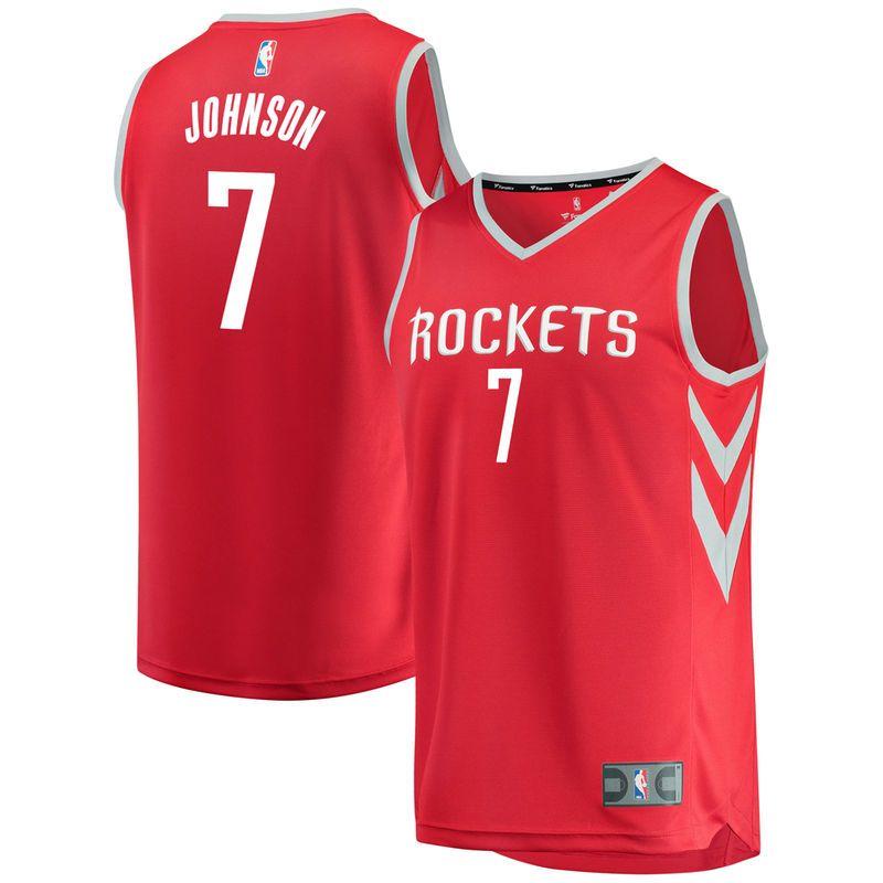 Joe Johnson Houston Rockets Fanatics Branded Youth Fast Break Player Jersey  - Icon Edition - Red 6d3f8f748