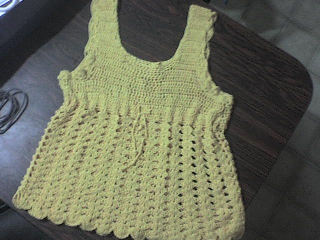 remera de hilo de algodón crochet | Tulicroche | Pinterest | Remera ...