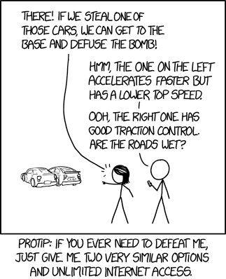 Xkcd Comic Xkcdcomic Twitter Nerd Jokes Decision Tree Fun Comics