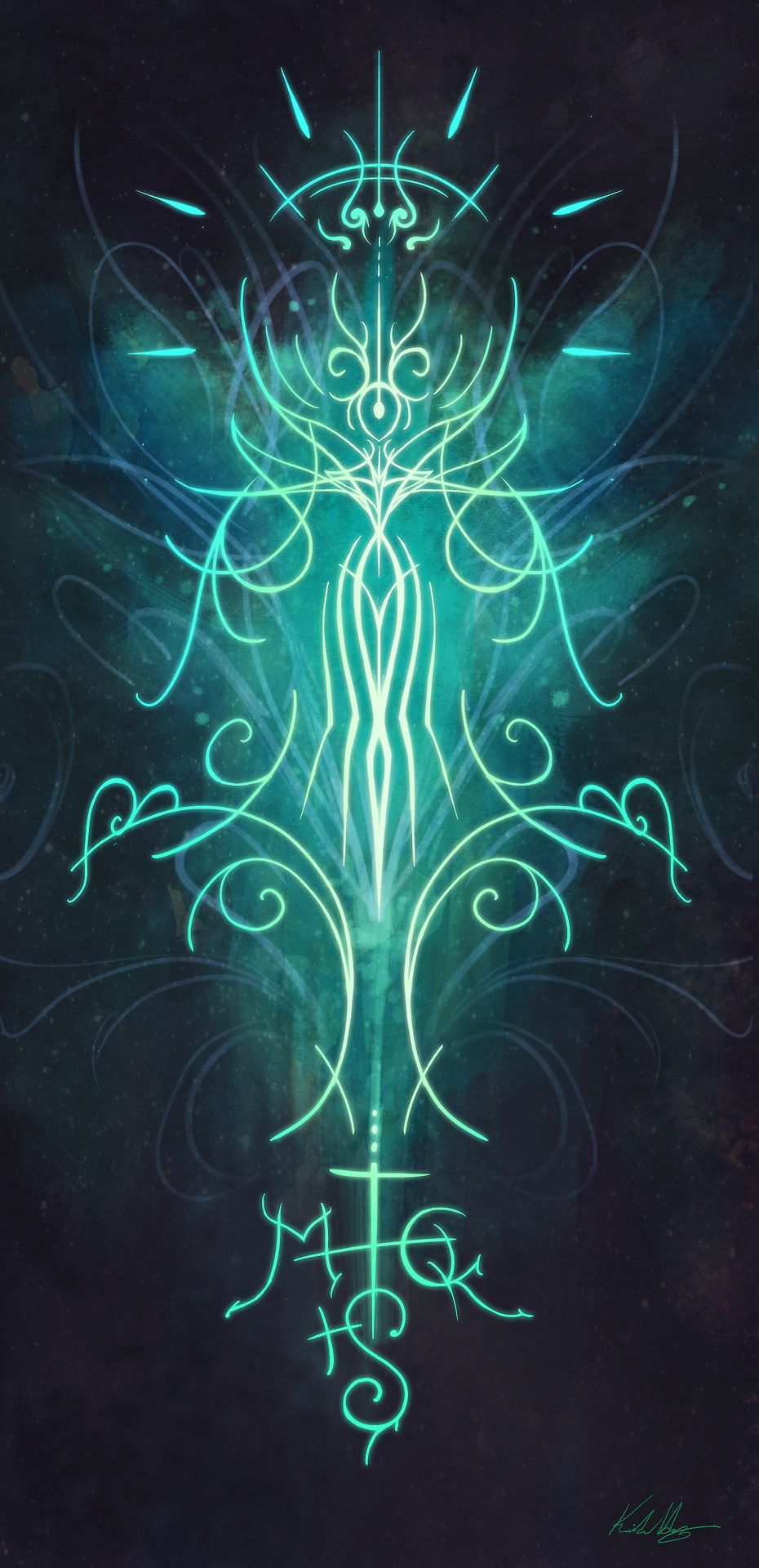 Sigil Of Health Beauty And Wellness Or More Specifically A Sigil