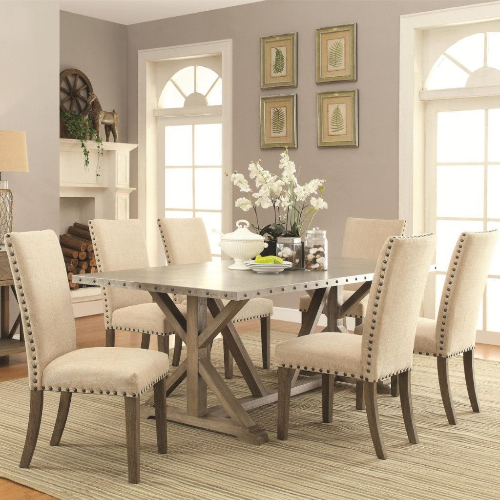 Casual Modern Dining Room: Transitional Style Dining Set