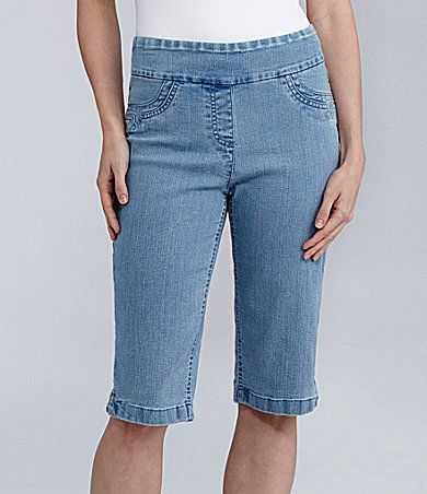 10eb11bf539 Westbound PARK AVE fit Pedal Pusher Pants