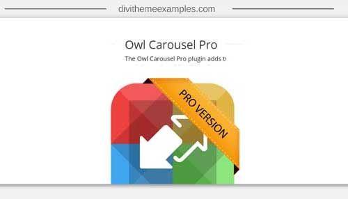 Owl Carousel Pro | Divi Plugins | Plugins for the Divi Theme
