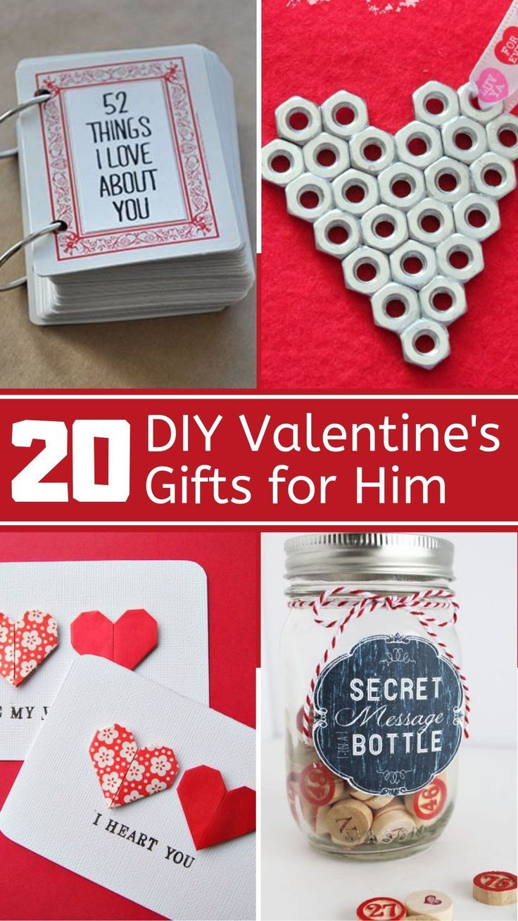 20 DIY Valentines Day Gifts For Him