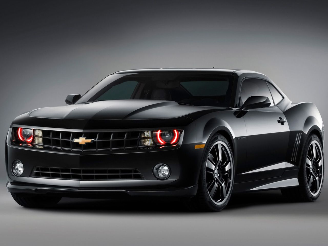 2010 chevrolet camaro black concept desktop wallpaper and high resolution images