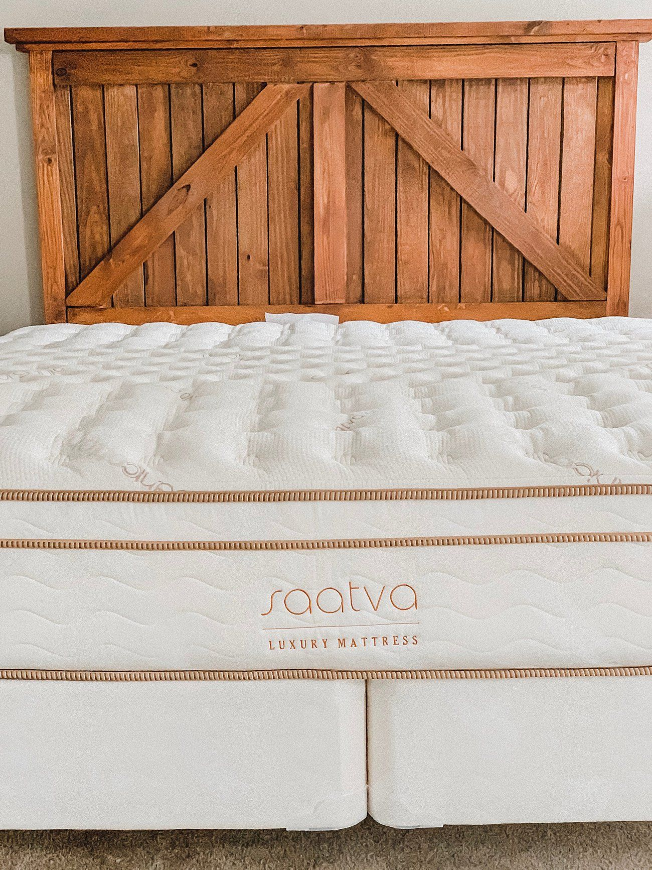 We Finally Got A King Bed Saatva Mattress Review Mattresses