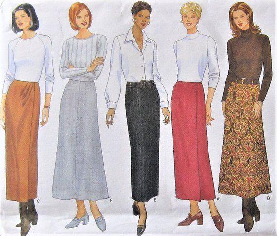 Skirt Sewing Pattern UNCUT Butterick 5209 Sizes 12-16