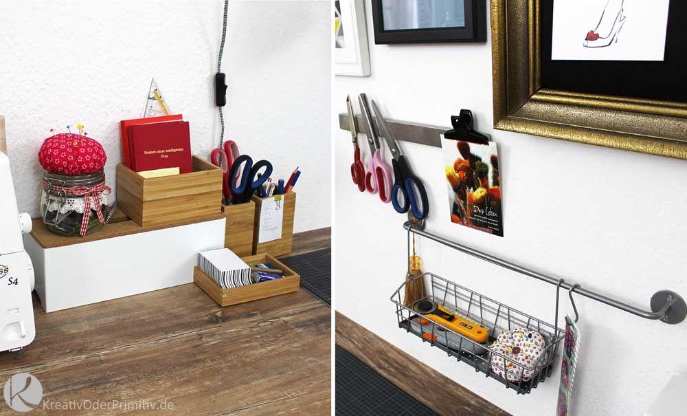 DIY, Craftroom, Craft, Sewing, Nähzimmer, Nähecke, Ikea - schreibtisch selber bauen ikea