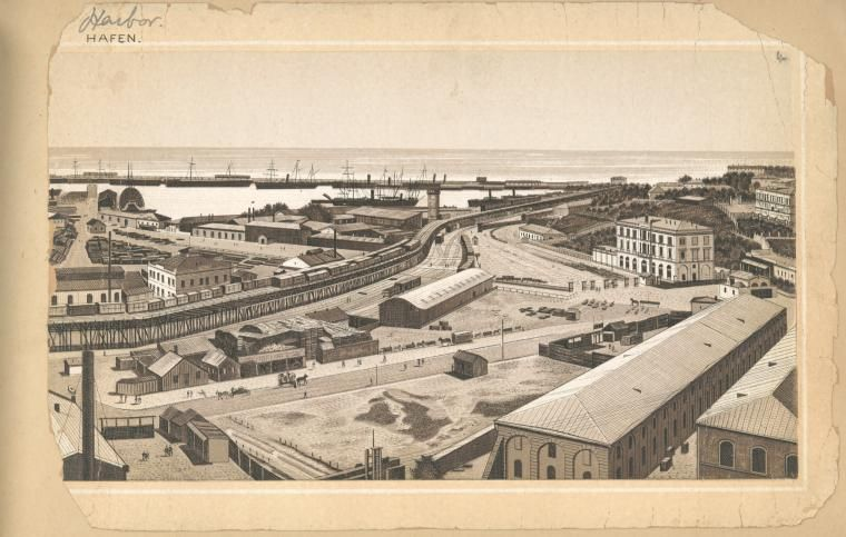 [Harbour.] (1900-1909?)