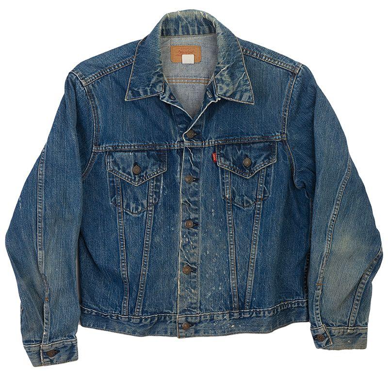 1970s Levi S 2 Pocket Jacket Vintage Denim Vintage Jean Jacket Jackets