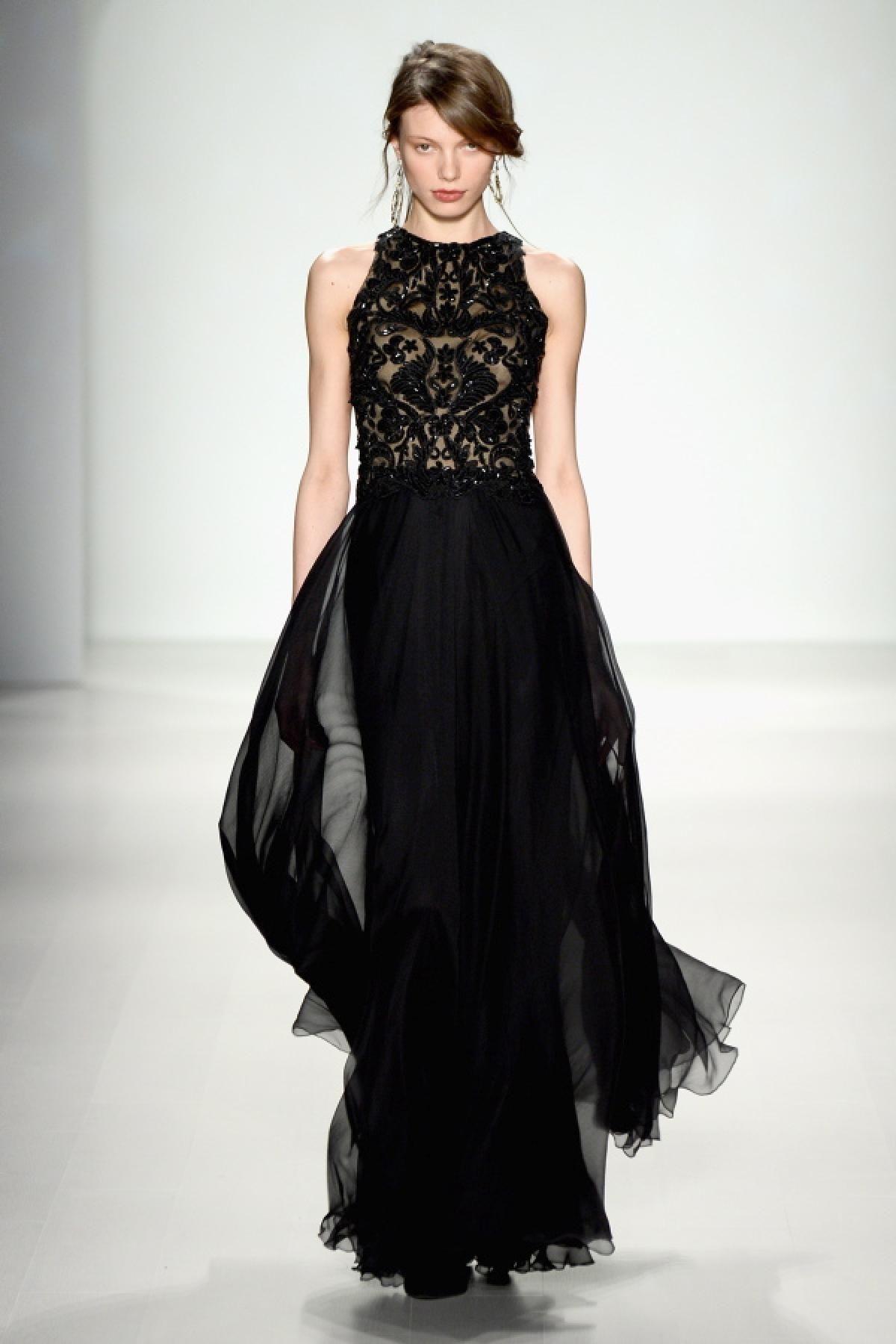 New york fashion week fall tadashi shoji dresses pinterest