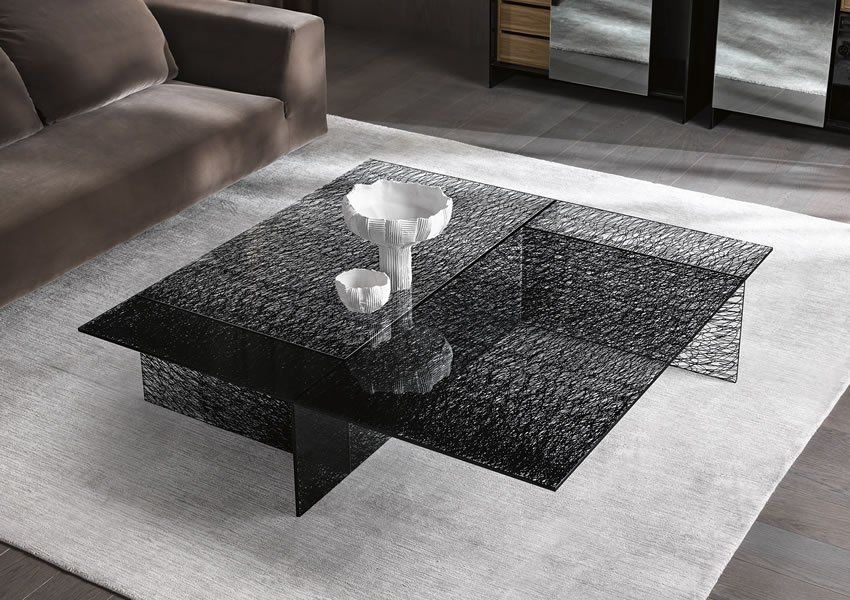 Tonelli Sestante Low Table Glass Coffee Table Contemporary Living Room Furniture In 2020 With Images Contemporary Coffee Table Coffee Table Table Furniture