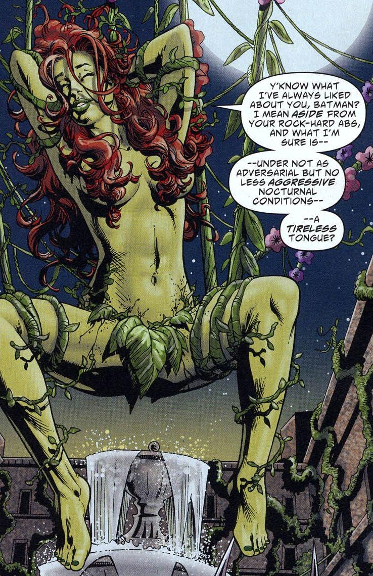 Veneno desnudo hiedra follar batman